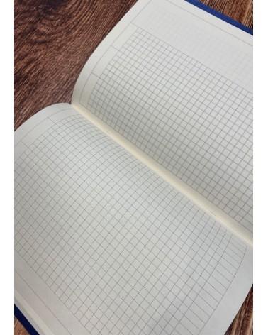 carnet intérieur petits carreaux carnets A5