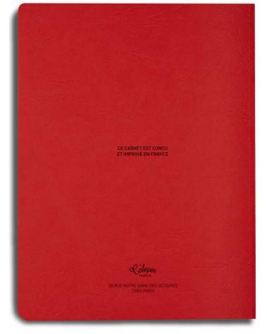 sketchbook red 18x24cm