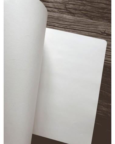 Carnet notes grand format intérieur pour dessin