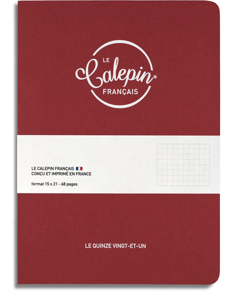 Carnet made in France 15x21cm