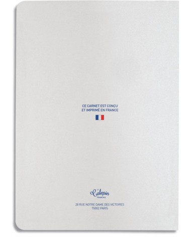 Calepin 15x21cm agenda perpétuel