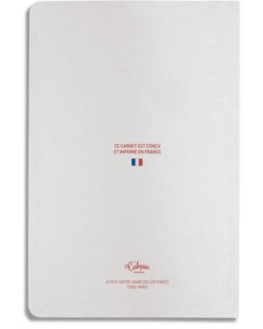 Carnet de notes ligné pour calligraphie