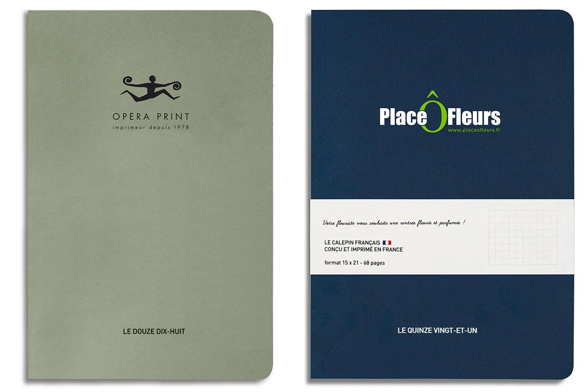carnet de notes personnalisée entreprise